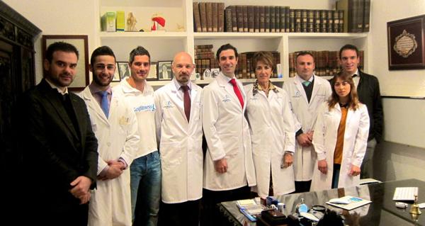 Equipo Medico de la Clinica Bernaldez