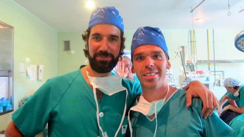 Drs Bernáldez y Manzano Artroscopia Codo VII Jornadas Riotinto