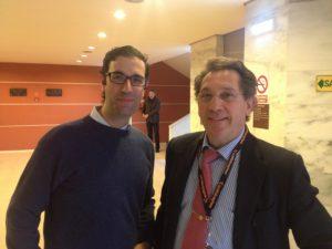 Drs Bernladez y Mikel Sanchez. 6 th International Arthrscopy Course